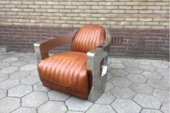 vintage stijl fauteuil