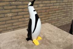 design beeld hand beschilderde pinguïn